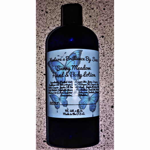 Natures Brilliance By Sue Sunny Meadow Hand and Body Lotion