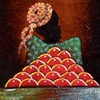 UNTITLED WOMAN WITH FRUIT