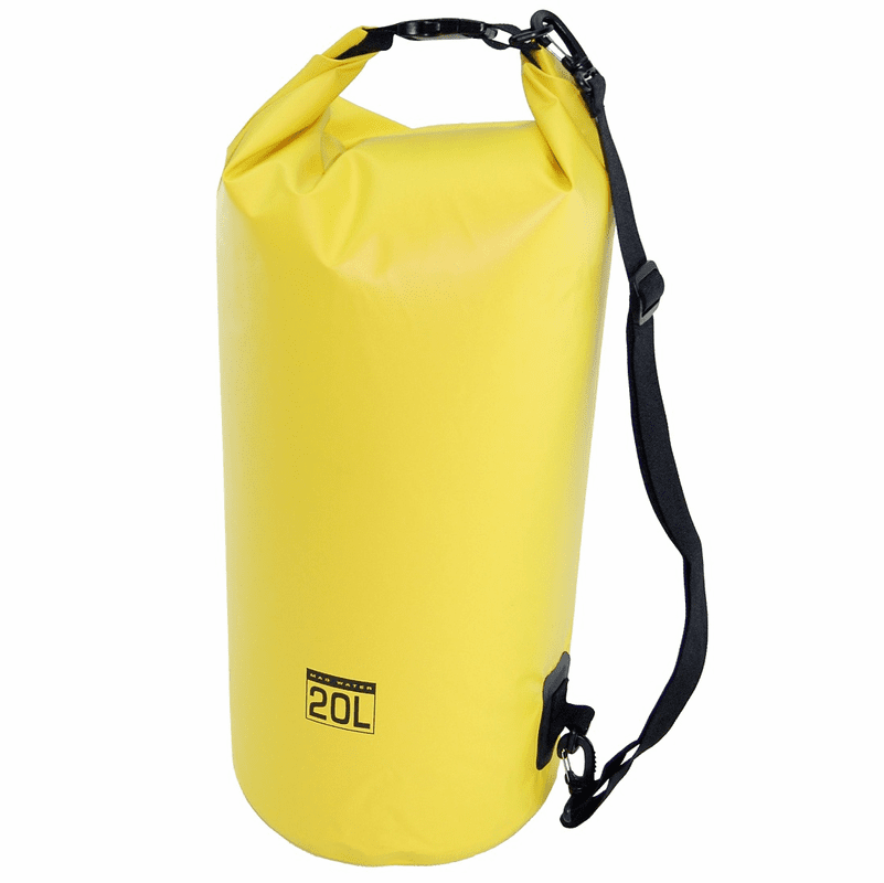 20L Waterproof Dry Bag - Yellow