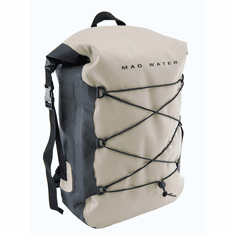 30L Roll-Top Waterproof Backpack - Khaki
