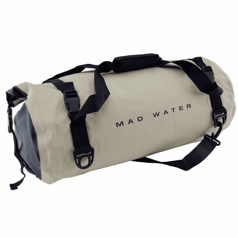 30L Roll-Top Waterproof Duffel - Khaki