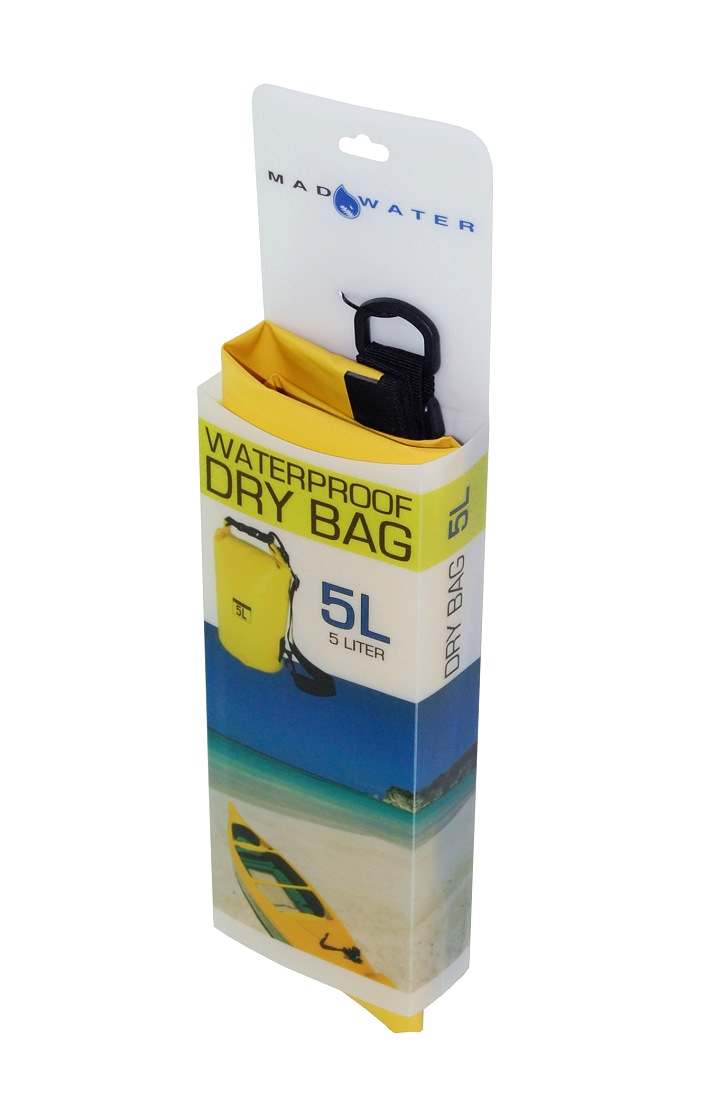 7ee6a285ad 5L Waterproof Dry Bag - Yellow