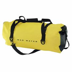 60L Roll-Top Waterproof Duffel - Yellow