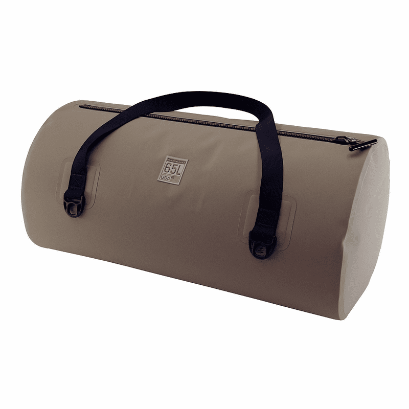 65L Waterproof USA Duffel – Coyote Brown