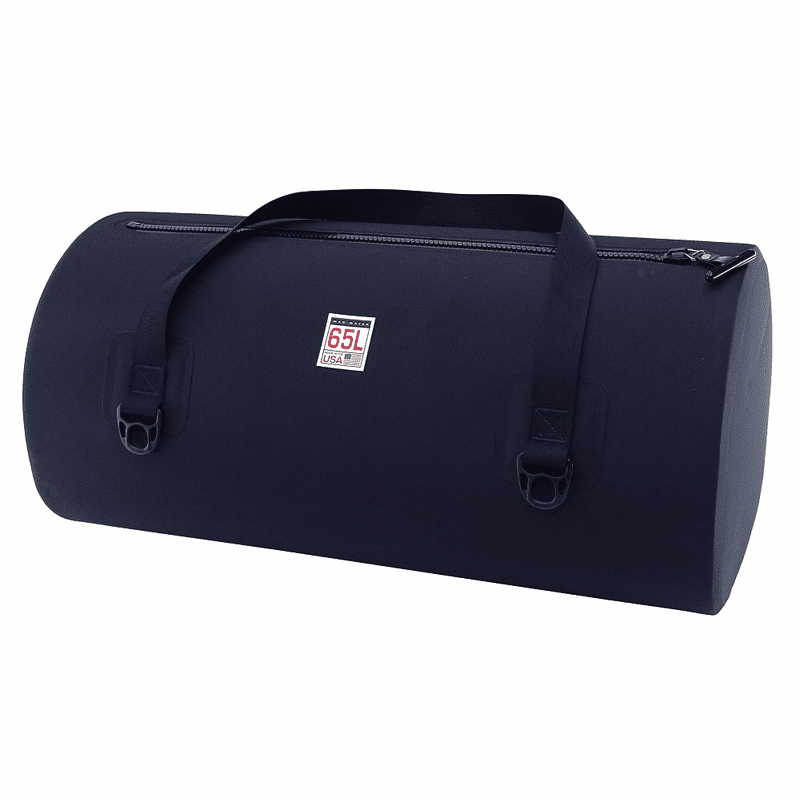 65L Waterproof USA Duffel – Matte Black