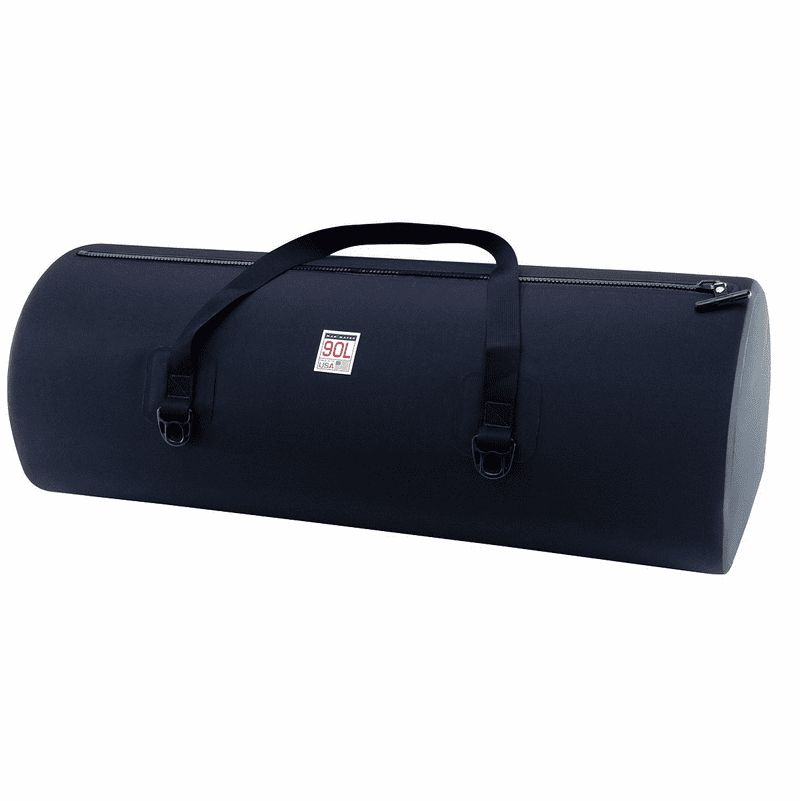 90L Waterproof USA Duffel – Matte Black