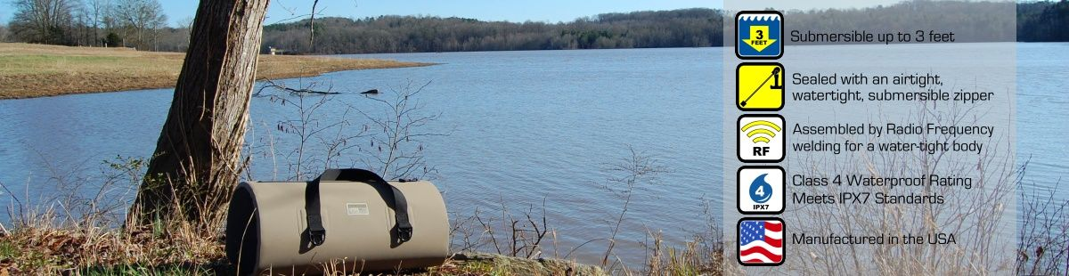 ALLATOONA WATERPROOF DUFFEL BAGS