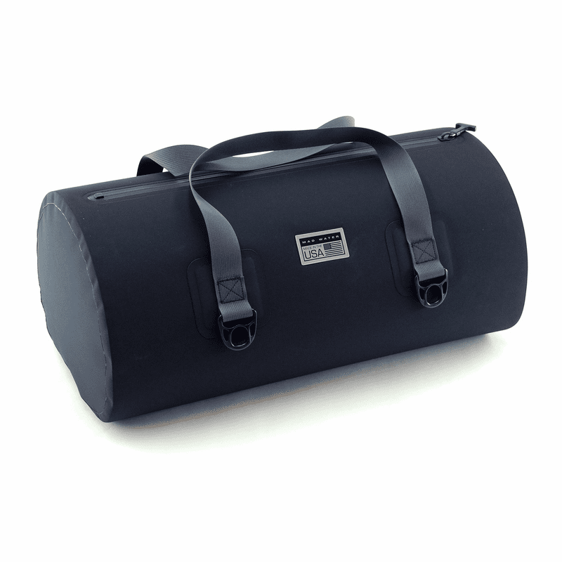 40L Allatoona Waterproof Duffel - Black/Grey