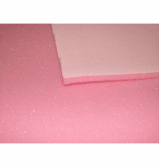"1/4"" Thick ""TS Backed"" Pleating Pink Sew Foam"