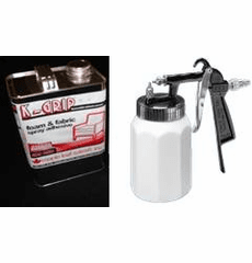 1 Gal. K-Grip Adhesive and EZE Spray Gun OUT OFSTOCK