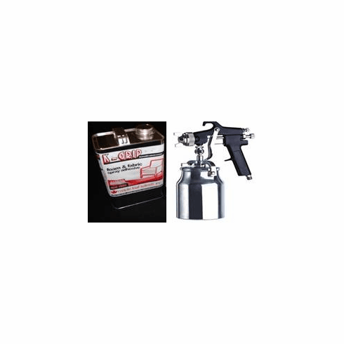 1 Gal. K-Grip Adhesive and Professional Spray Gun OUT OF STOCK