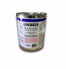 1 Gallon Lokweld High Temperature Contact Cement
