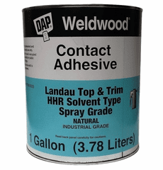 2 Gallon Cans DAP Weldwood HHR Contact Cement