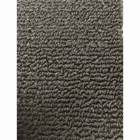 """40"""" Wide Black Loop Style Carpet for Old Cars"""