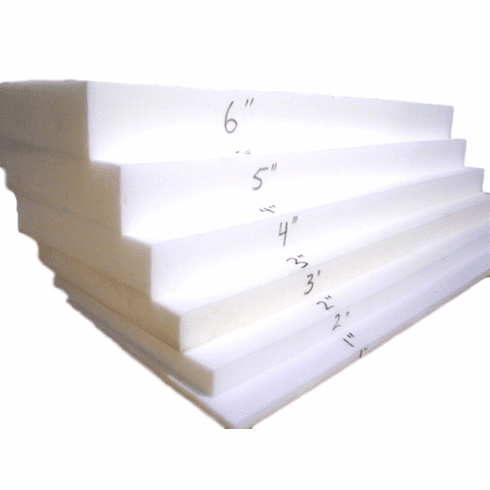 "5""X26""X82"" Loaded (MEDIUM FIRM) Half Foam Sheet OUT OF STOCK DUE TO VENDOR FOAM ALLOCATION"