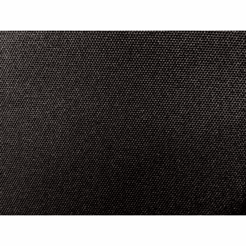 600 Denier Black Polyester Water Repellent Fabric Closeout