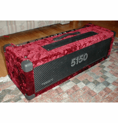 Amp Covered In Crush Velvet (Wine)