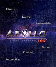 Apollo 4 Way Stretch Marine Upholstery Vinyl