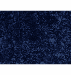 Automotive Crushed Velvet Navy