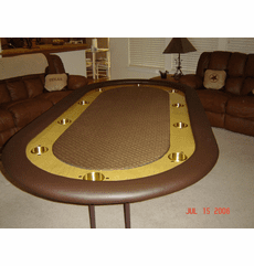 Bert Johnston's Poker Table