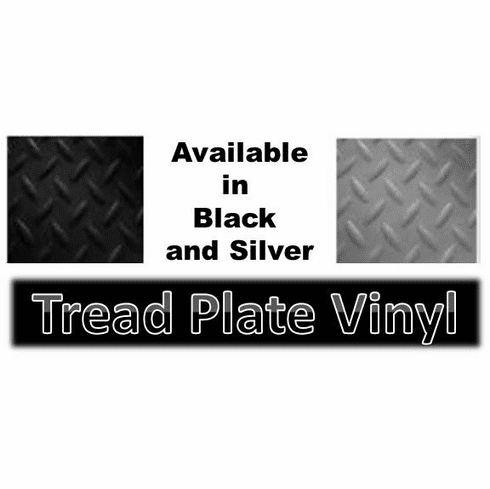 "Black Tread Plate Marine Flooring 63"" OUT OF STOCK"