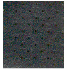 Black Vinyl Perforated Headliner OUT OF STOCK