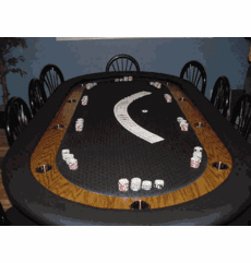 Brian Pickard's Poker Table