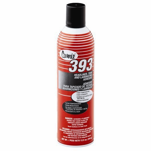 Case of 12 Camie 393High Temperature Spray Headliner Adhesive
