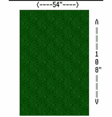 "Diagram Of ""Holdem"" Cloth Pattern"