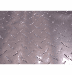 """Diamond Plate Vinyl """"Silver"""" Discontinued - Low On Stock"""