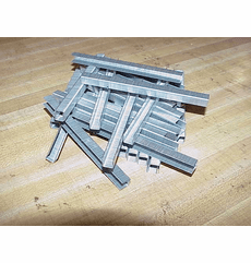 "EZE 3/8"" x 1/4"" Stainless Steel Staples"