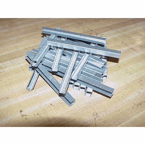 """EZE 3/8"""" x 3/8"""" Stainless Steel Staples"""