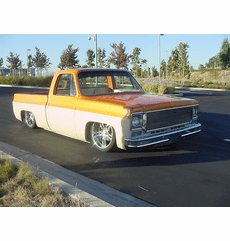 Freddy Laurens' 1975 Chevy C10