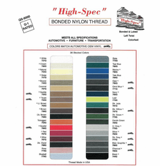 """High-Spec""  4oz. B69 Automotive Nylon Thread"