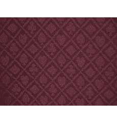 "Holdem Casino Suited Cloth ""Burgundy"""