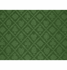 "Holdem Casino Suited Cloth ""Pine Green"""