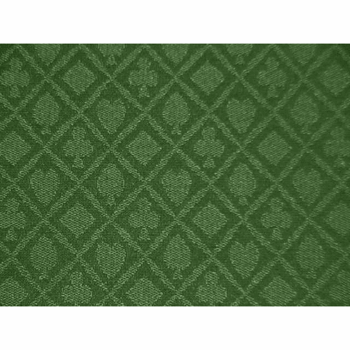 """Holdem Casino Suited Cloth """"Pine Green"""""""