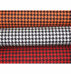 Houndstooth Automotive Fabric