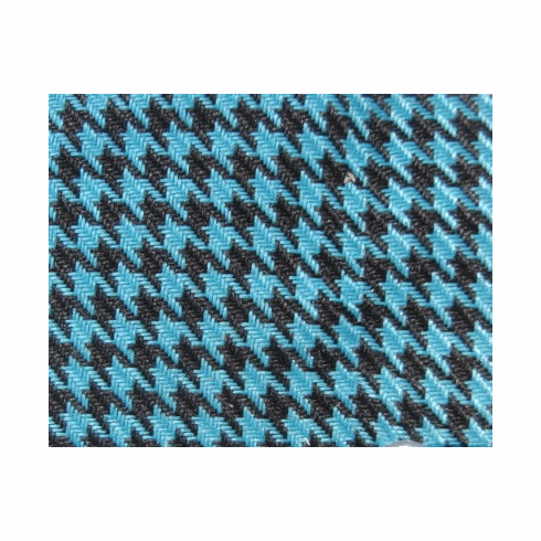 Houndstooth Black/Blue
