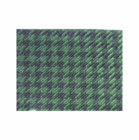 Houndstooth Black/Green