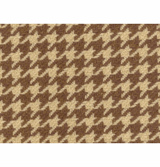 Houndstooth Brown/Tan