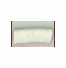 "JUMBO Snap On Trim ""White"""