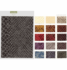 "Nuvtex Boa ""Faux"" Leather Vinyl  (Snake Print)"