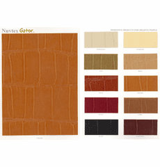 "Nuvtex Gator ""Faux"" Leather Vinyl"