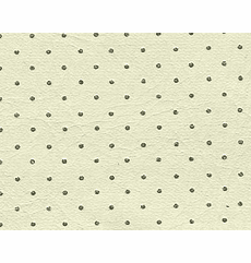 YourAutoTrim Off White Perforated Vinyl Headliner Material