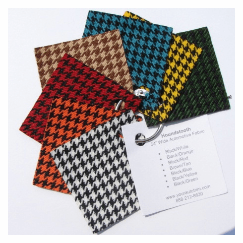 Purchase A Houndstooth Cloth Sample Ring