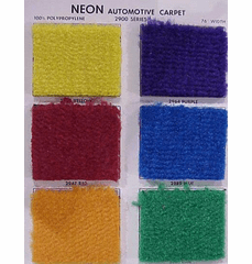 Purchase A Neon Automotive Carpet Chart