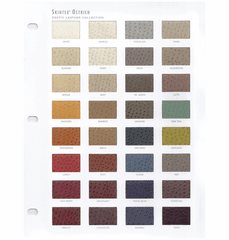 Purchase A Ostrich Faux Leather Chart OUT OF STOCK