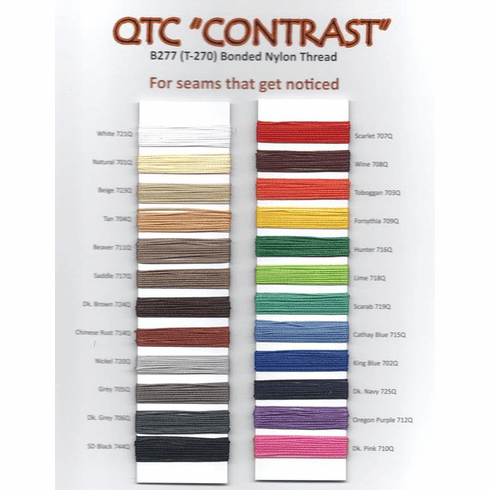 Purchase A Real Thread T-270 Contrast Thread Chart OUT OF STOCK - MANUFACTURER ALSO OUT OF STOCK