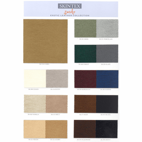 Purchase A Snake Faux Leather Chart
